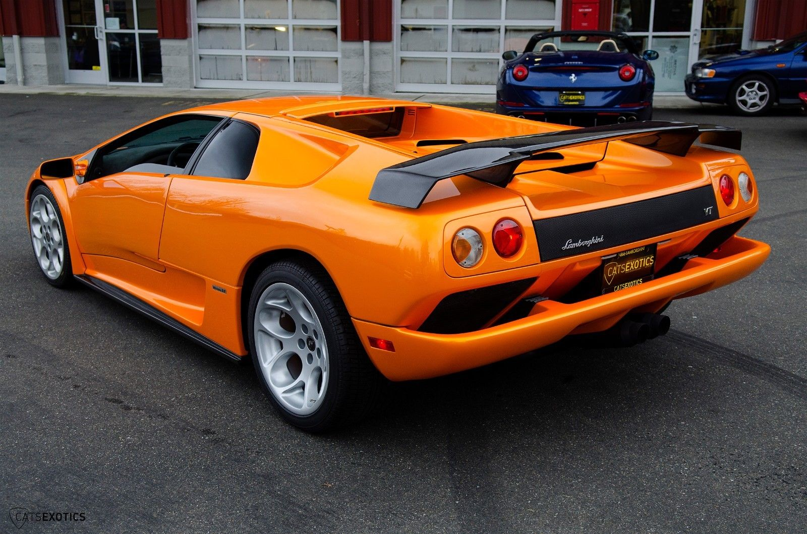 Awesome 2001 Lamborghini Diablo 6 0 Vt Rare Arancio Atlas Carbon Fiber Interior Sp Engineering Exhaust 2018 2019