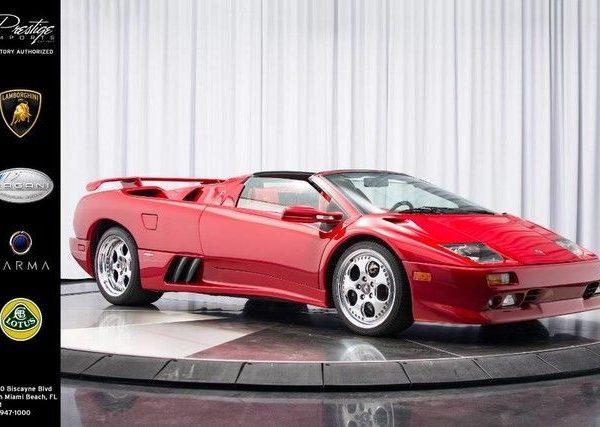 Amazing 1999 Lamborghini Diablo 1999 Lamborghini Vt Roadster Momo