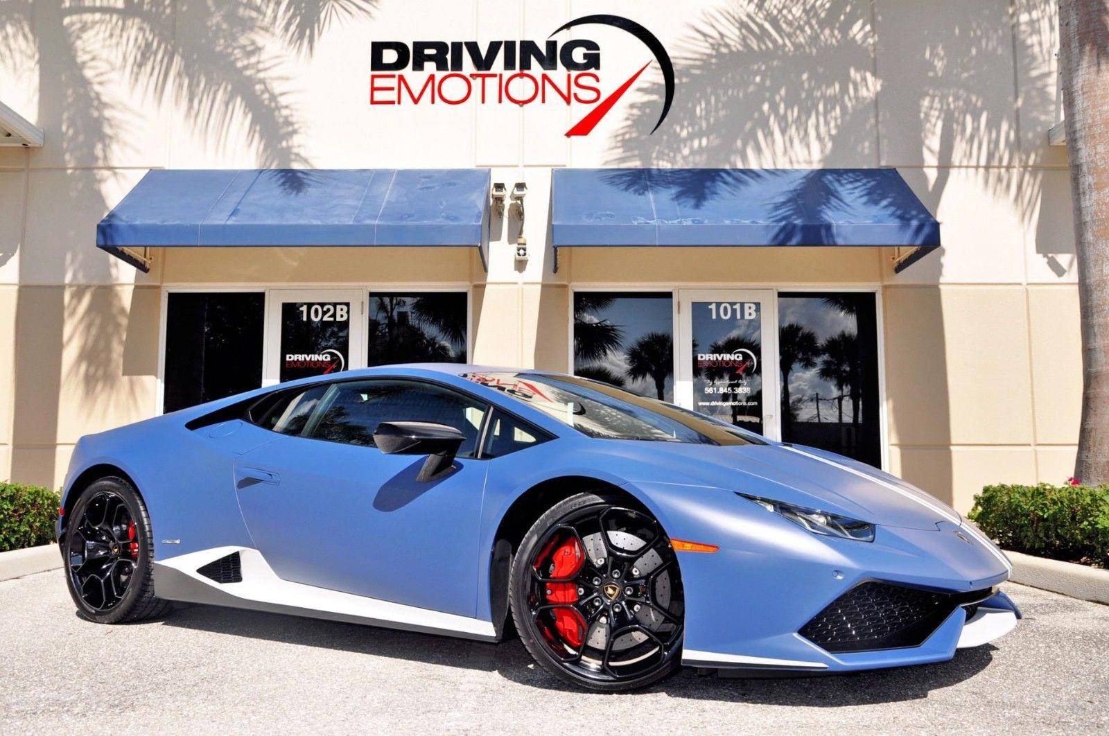 Amazing 2017 Lamborghini Huracan Lp610 4 Coupe Se Avio 283k Msrp Blue Grifo 1 0f 250 Ccb Collector 2018