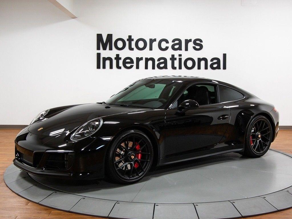911 Carrera 4 Gts 2018 Porsche 911 Carrera 4 Gts 900 Miles Black 3 0l Twin Turbo H6 450hp 405ft 2017 2018 24carshop Com