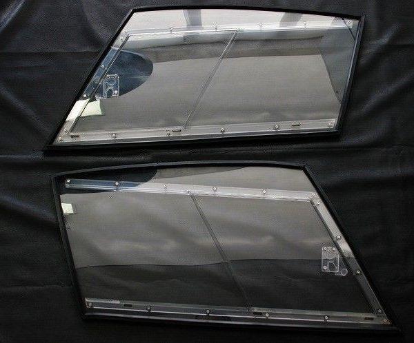 Amazing FERRARI F40 GT LM Lexan window kit set glass side