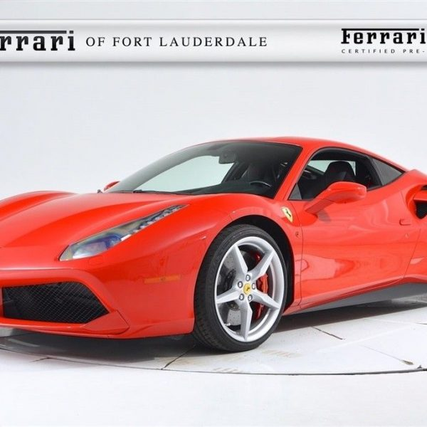 Awesome Ferrari 488 SPIDER 2018 Used Certified Turbo 3.9L