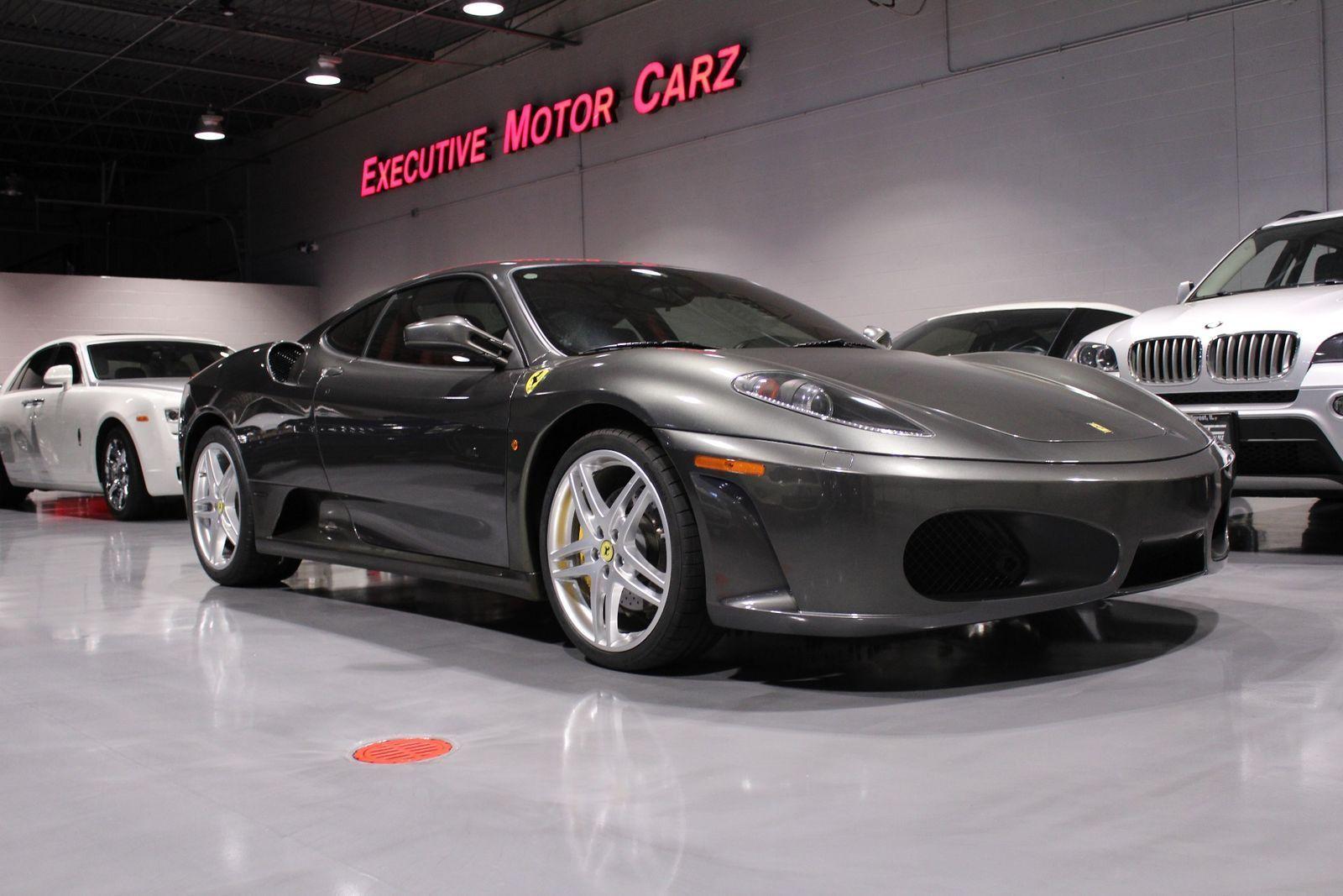Great Ferrari F430 2007 Gray! RED INTERIOR! YELLOW CALIPERS