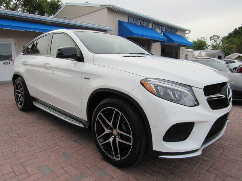 Amazing Other 4matic 4dr Gle 450 Amg Coupe 2016 Mercedes Benz 21 212 Miles Polar White Suv 2017 2018