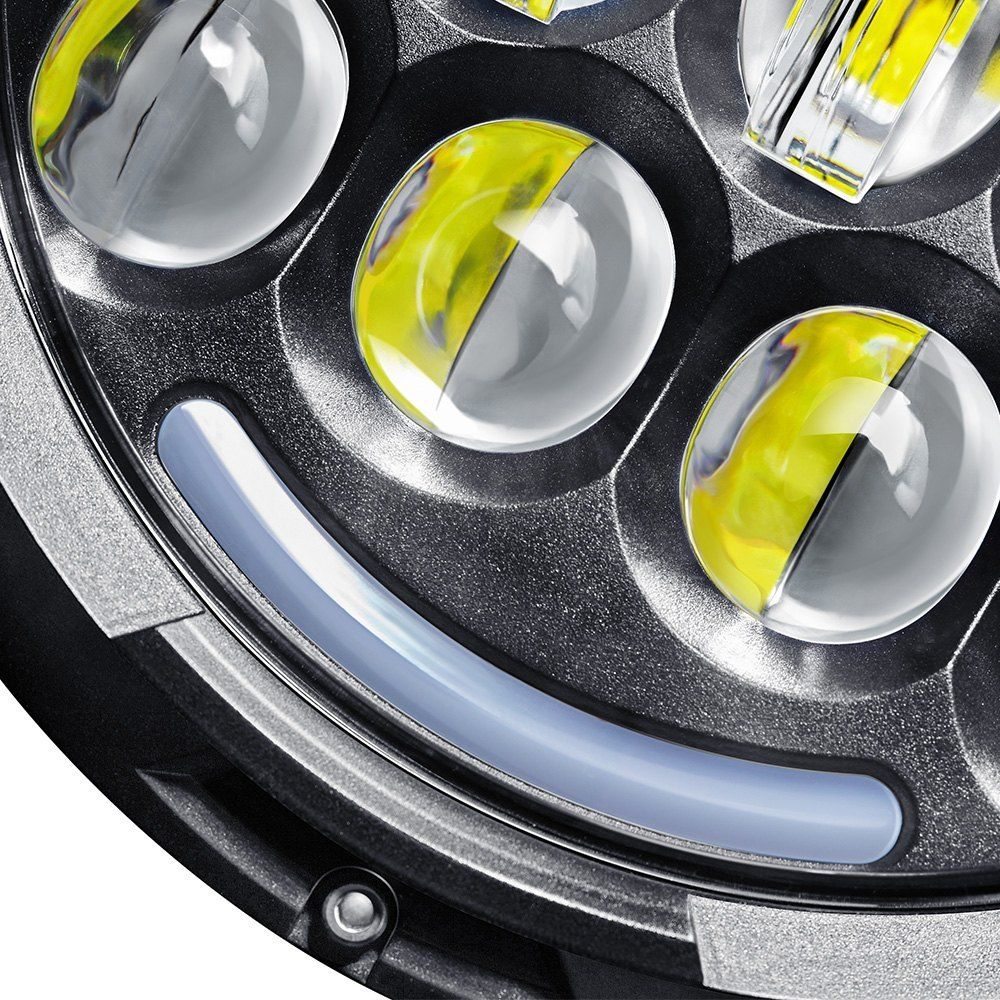 Pair 7inch 78W 7″ CREE LED Headlight Replacement For 2007 ...