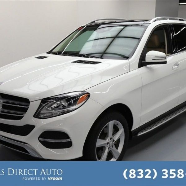 Used Turbo Suv: Great Mercedes-Benz GLE-Class GLE 300d Texas Direct Auto