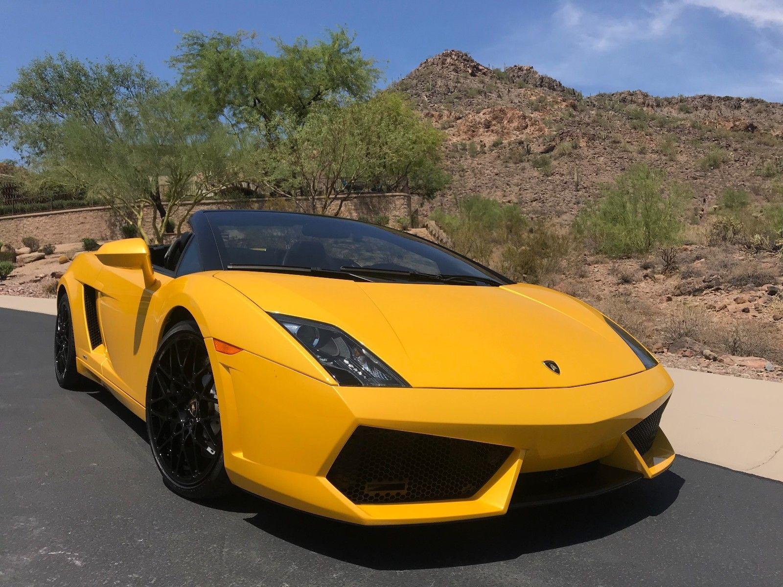 Amazing 2010 Lamborghini Gallardo Gallardo Lp560 4 Spyder Loaded