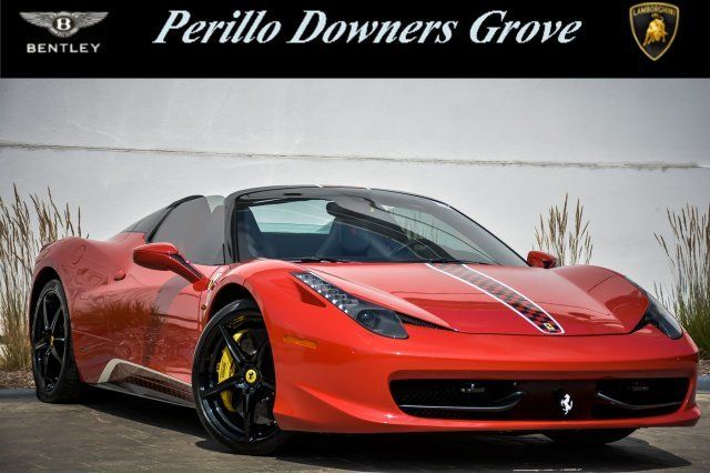 Ferrari 458 Spider For Sale >> Great 458 With Navigation 2014 Ferrari 458 Spider For Sale