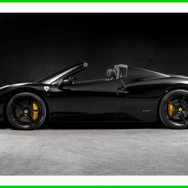 2014 Ferrari 458 Speciale Transmission: Awesome 458 Spider 2014 Ferrari 458 Spider