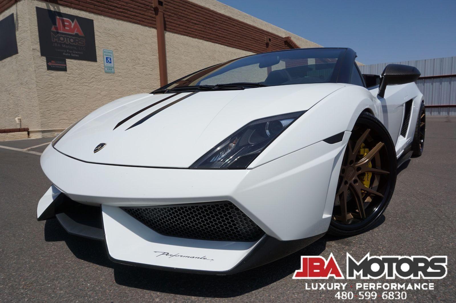 Great Lamborghini Gallardo Performante Lp570 Spyder Superleggera