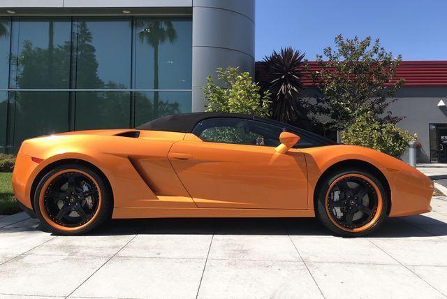 Amazing Gallardo Spyder Roadster 2d Orange Lamborghini Gallardo With