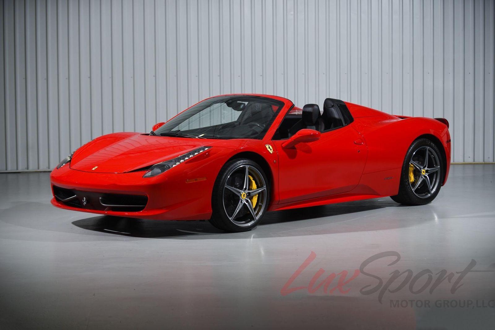 Amazing 458 \u2014 2012 Ferrari 458 Spider 2018,2019