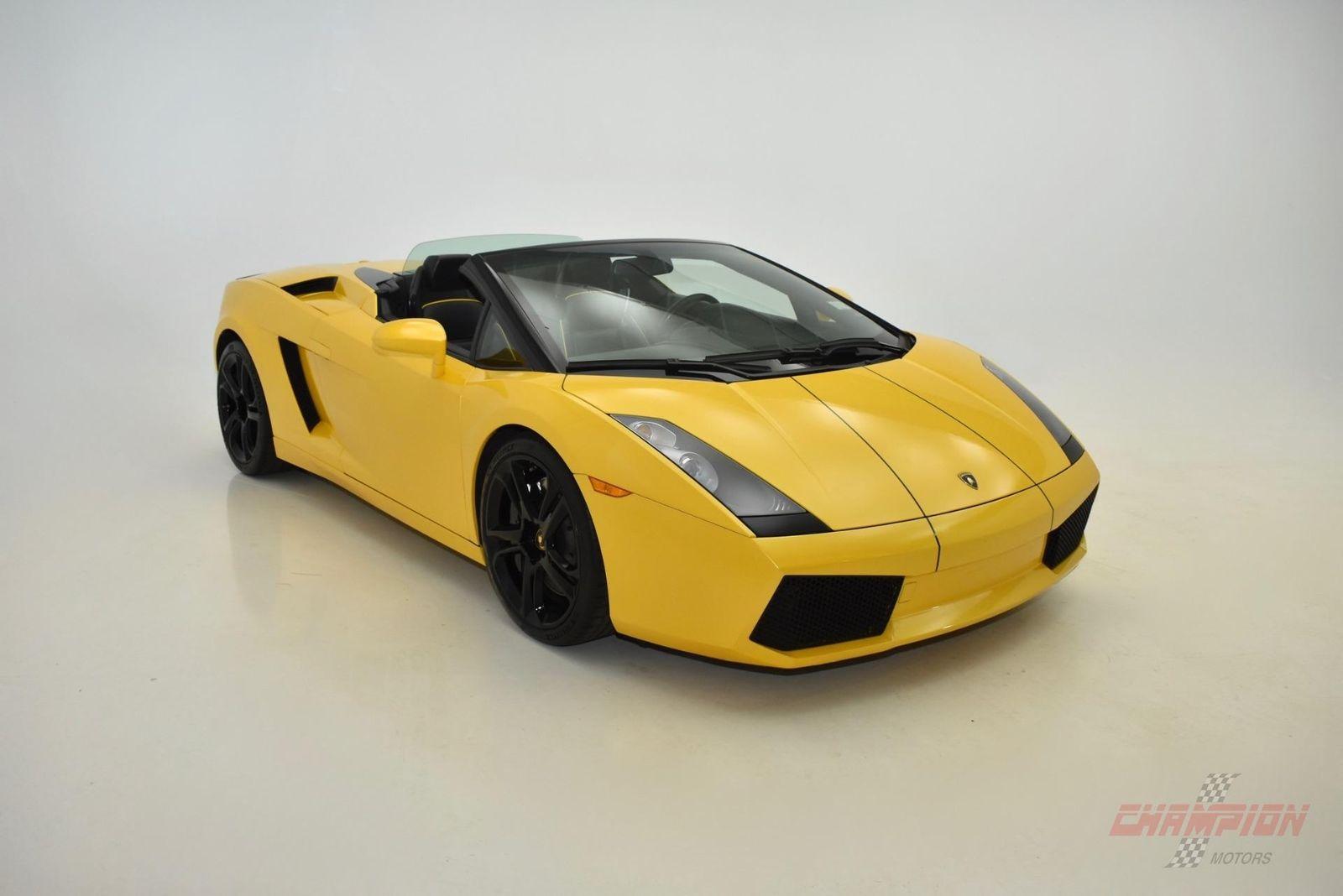 Amazing Gallardo Spyder 2006 Lamborghini Gallardo Spyder 26233 Miles