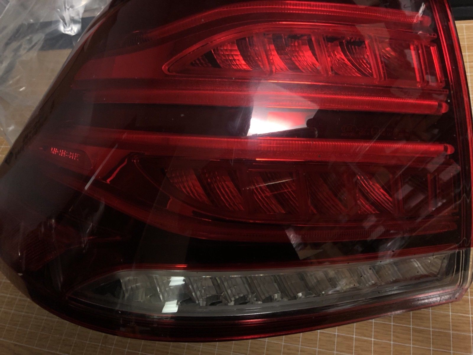 2016 2017 Mercedes Benz Gle Class Left Rear Tail Light