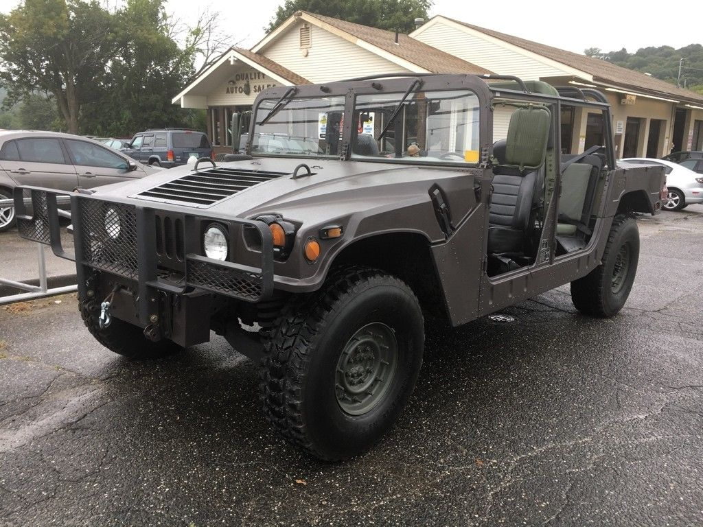 Great 8 Hummer H8 8 AM General 8 Door Soft Top w/Truck Body HAS TITLE  AND HAS BEEN REG IN CT 2088-2089 | hummer h1 soft top replacement
