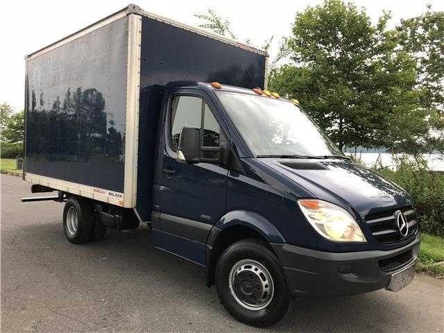 Great 2017 Mercedes Benz Box Truck Ext Sprinter 3500 Low Mileage Ramp No Issue 2018 2019