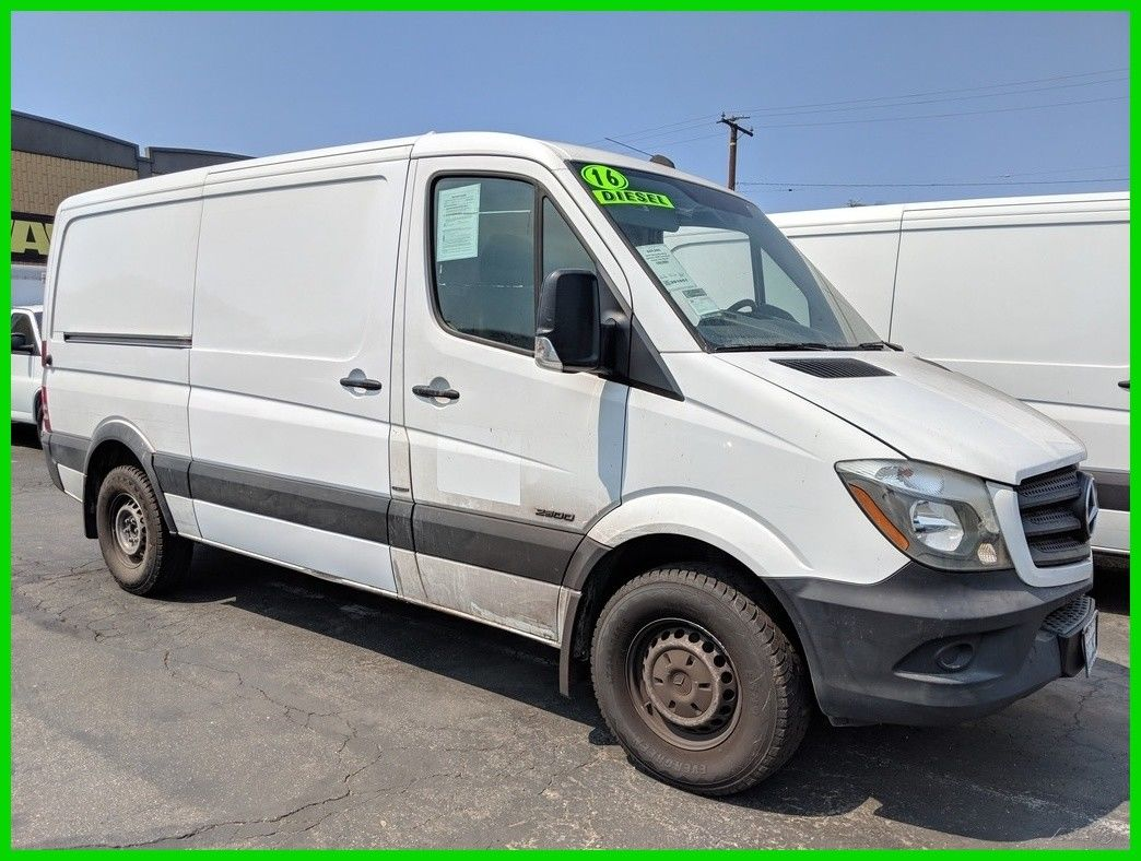 Awesome 2016 Mercedes Benz Sprinter 2500 Cargo Van 144 In Wb Normal Roof Used Turbo 2 1l I4