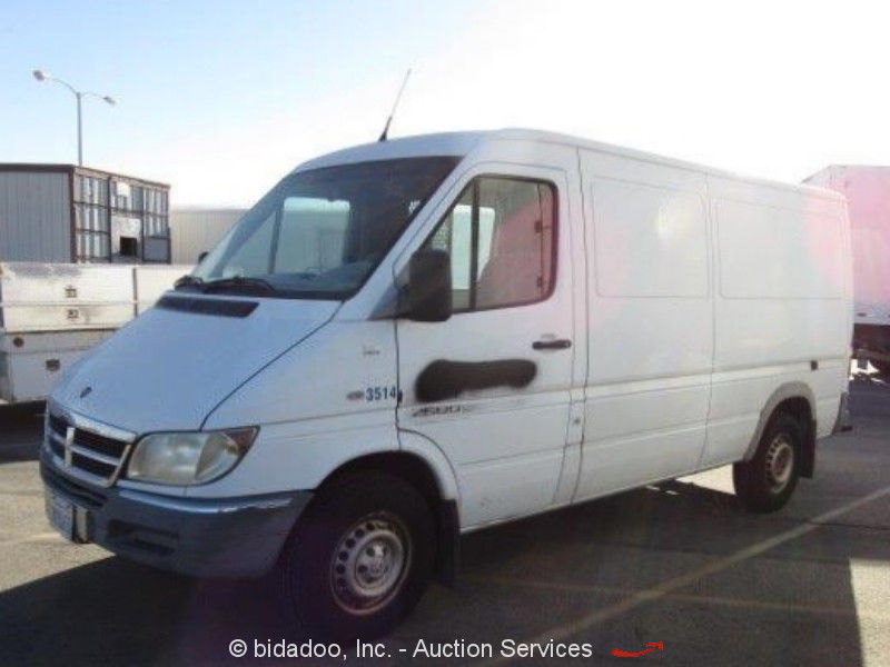 3dc9b76ed3 Great Dodge Sprinter 2500 2005 Dodge Sprinter 2500 Cargo Delivery Van  Mercedes 2.7L Turbo Diesel bidadoo 2018-2019