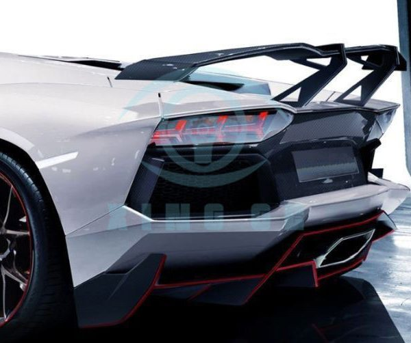 Great For Lamborghini Aventador Lp700 4 Carbon Fiber Rear Wing