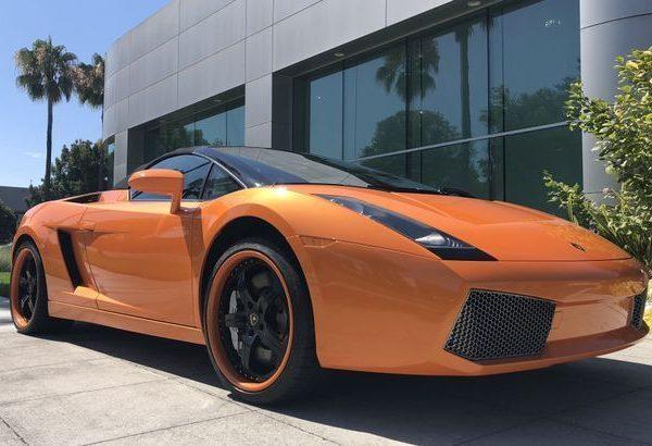Great Gallardo Spyder Roadster 2d Orange Lamborghini Gallardo With