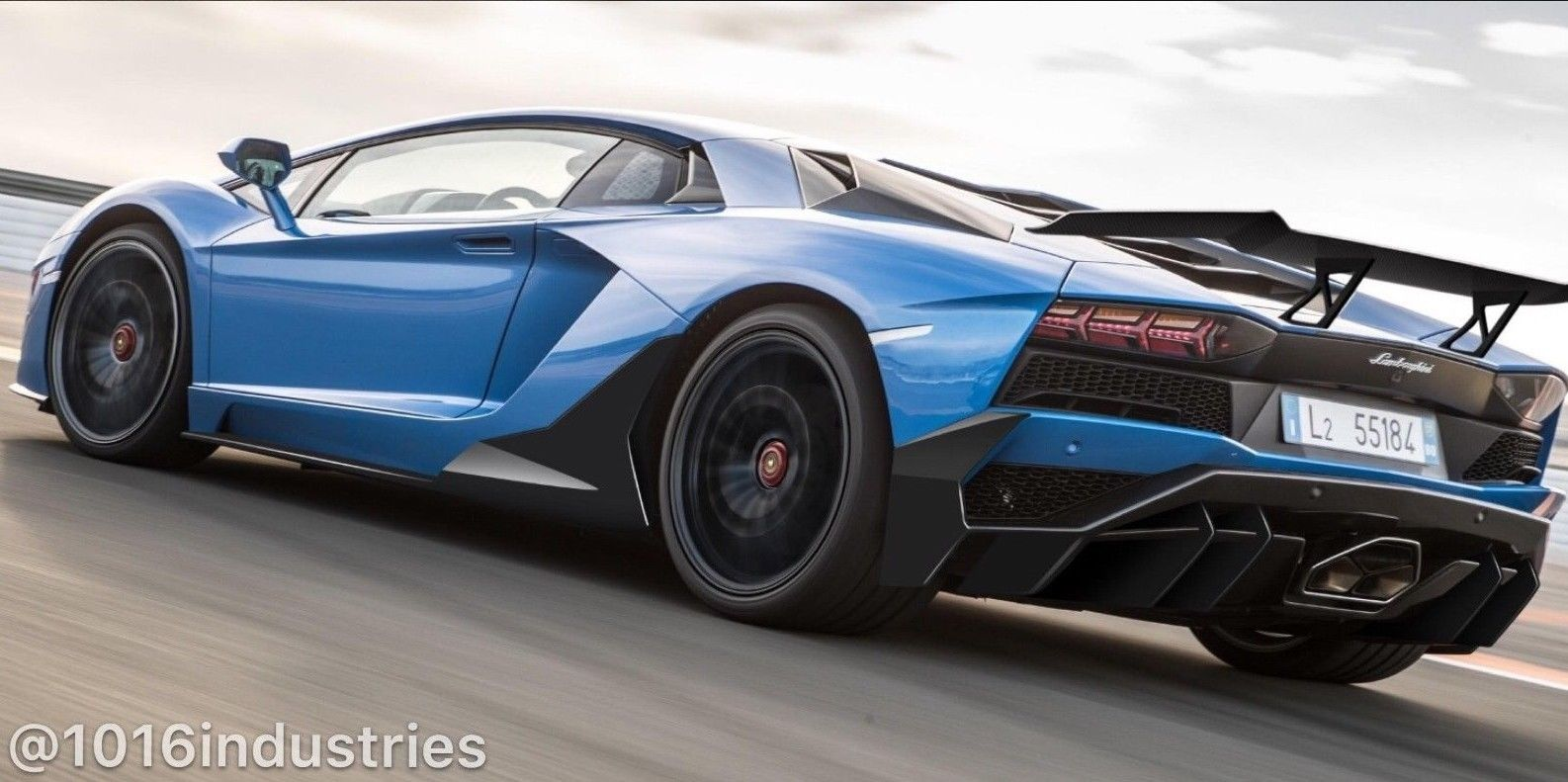 Amazing Lamborghini Huracan Aventador S Lp740 Carbon Fiber Rear Wing