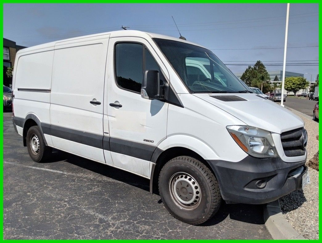 Awesome Mercedes Benz Sprinter 2500 Cargo Van 144 In Wb Normal Roof 2016 Used Turbo 2 1l I4 16v Rwd