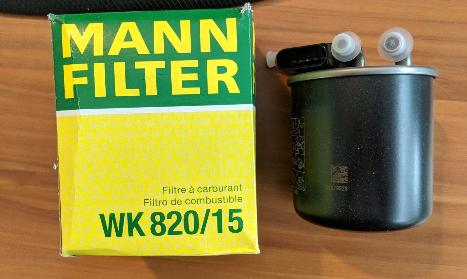 Awesome Mercedes Benz Sprinter Fuel Filter 5 Pin Oem Mann Wk 820 15 Item Specifics