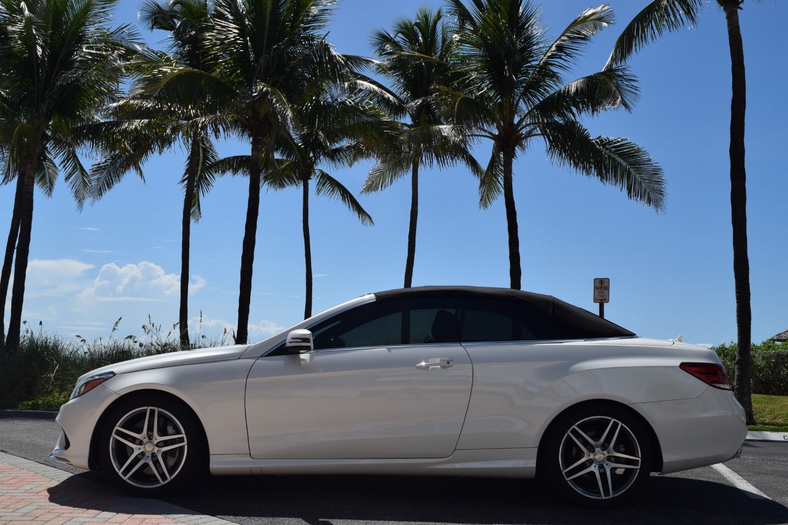 Great 2017 Mercedes Benz E Cl Amg Sport E550 Conv Package One Owner Clean Carfax Non Smoker 2018
