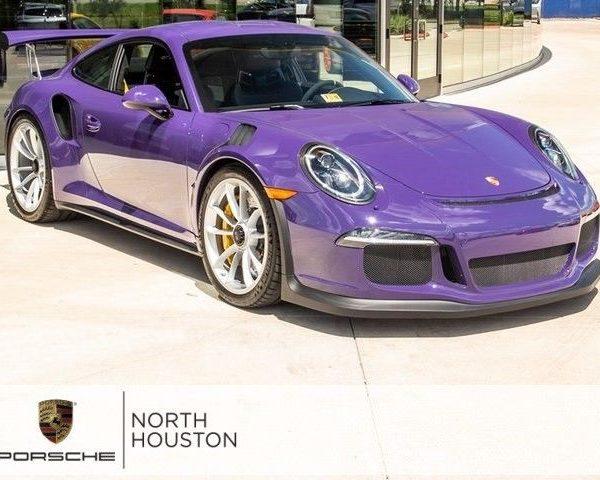 Amazing 911 GT3 RS 2016 Porsche 911 GT3 RS 331 Miles Ultraviolet 2017 2018