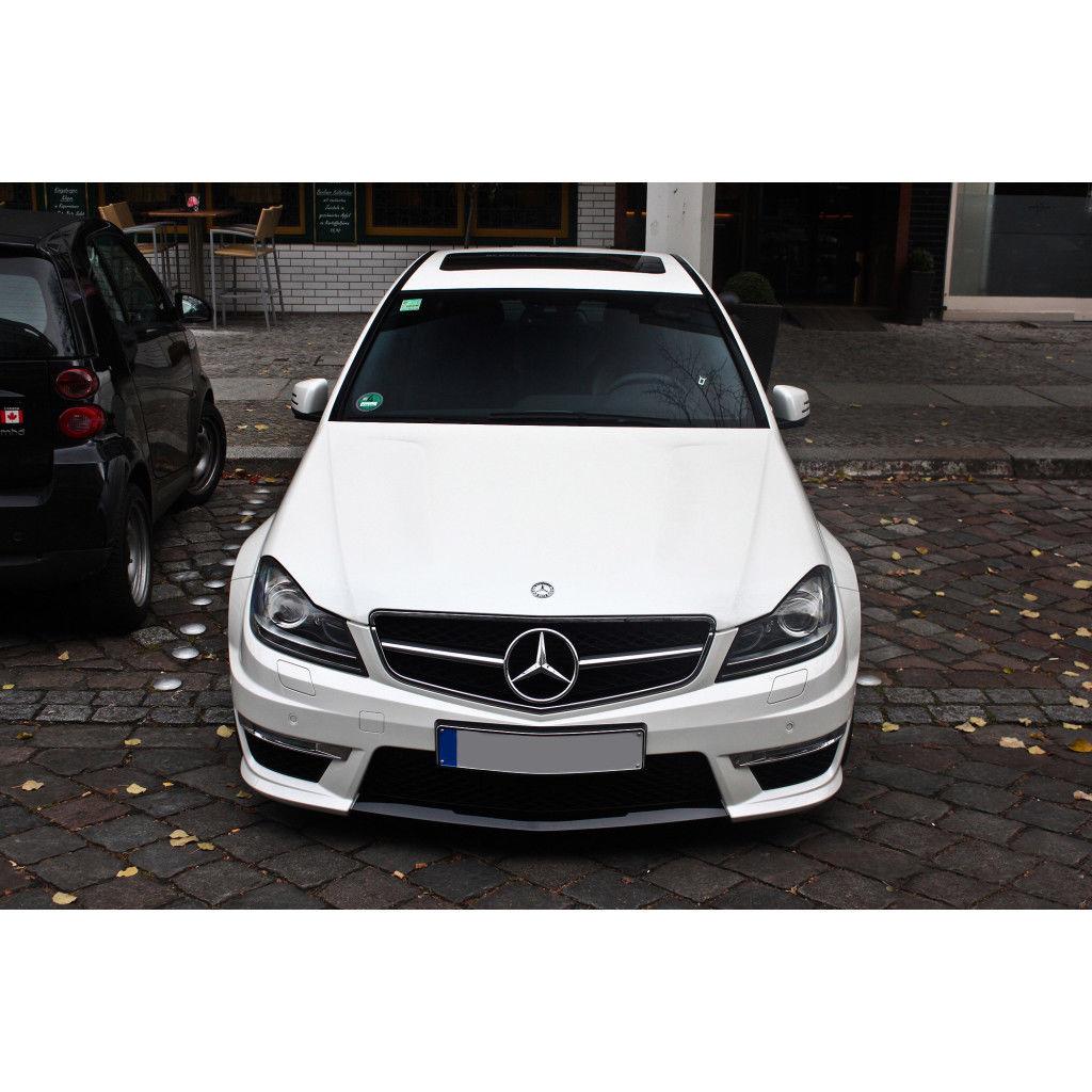 Amazing European 2012-2014 Mercedes Benz W204 C250 C300 C350 Halogen LED  DRL Headlights 2018-2019
