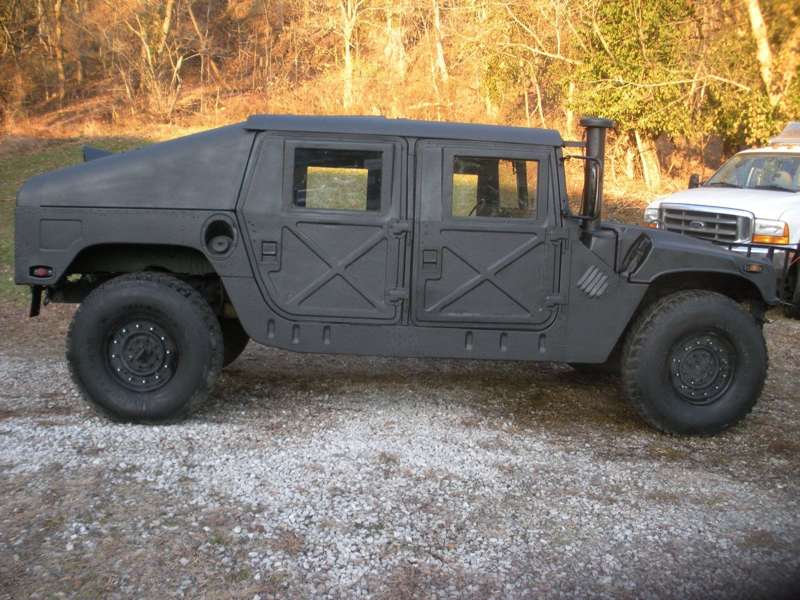 Is Hummer Coming Back In 2018? >> Awesome 1980 Hummer H1 Slant Back 1989 Humvee Slant Back With Turret Hummer H1 Military Humvee 2018 2019