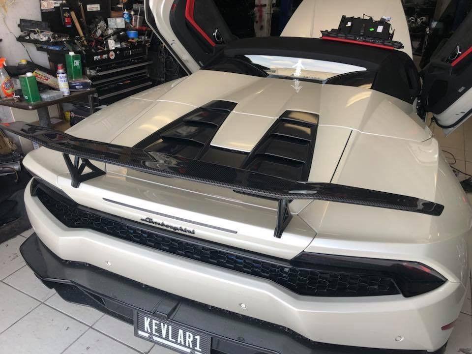Amazing Lamborghini Huracan Lp610 4 Lp580 2 Carbon Fiber Rear Wing