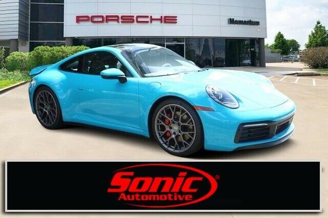 Used 2020 Porsche 911 Carrera S 2020 Porsche 911 Carrera S 10 Miles Miami Blue 2dr Car Twin Turbo Premium Unlead 2020 24carshop Com